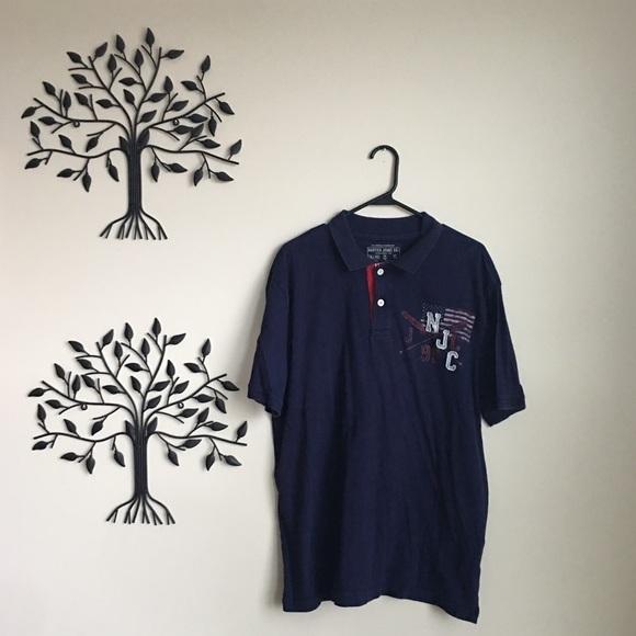 432e817843 Vintage Nautica Jeans Polo Shirt. M_5aa0543cc9fcdf2eca52cda9